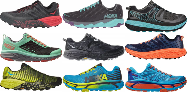 buy hoka one one trail running shoes for men and women