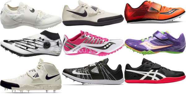 buy hook and loop track & field shoes for men and women