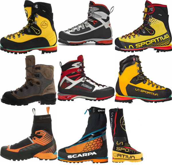 buy insulated mountaineering boots for men and women