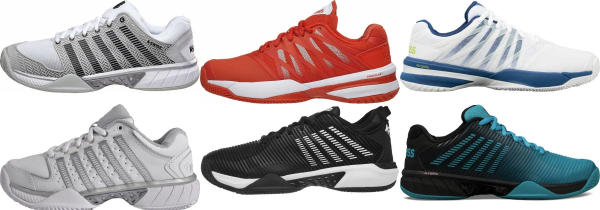 buy k-swiss all court tennis shoes for men and women
