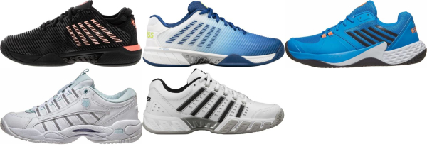 buy k-swiss aosta tennis shoes for men and women