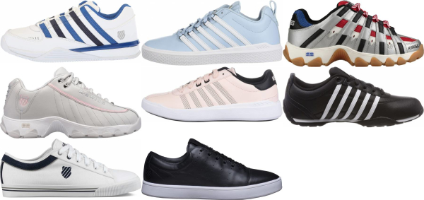 buy k-swiss leather sneakers for men and women