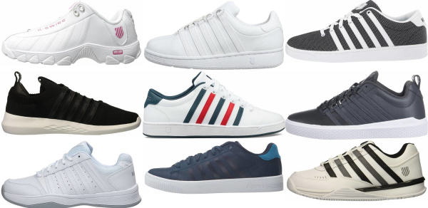 buy k-swiss tennis sneakers for men and women