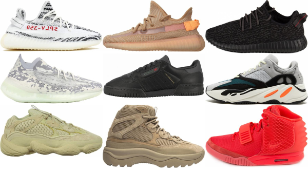 buy kanye west sneakers for men and women