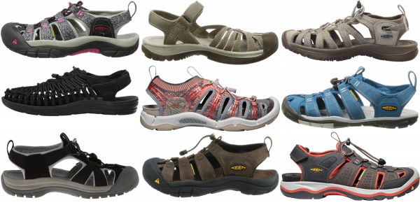 buy keen hiking sandals for men and women