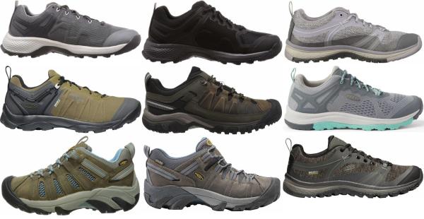 buy keen low cut hiking shoes for men and women
