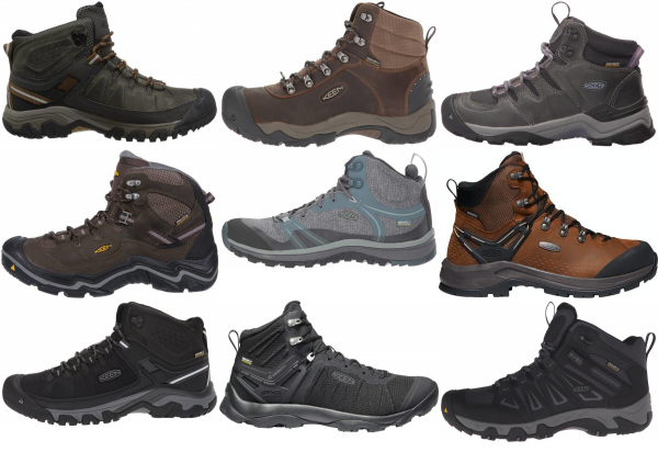 buy keen waterproof hiking boots for men and women