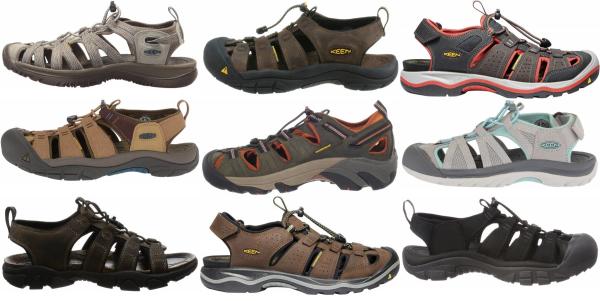 buy keen waterproof hiking sandals for men and women