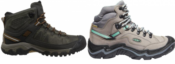 buy keen wide hiking boots for men and women