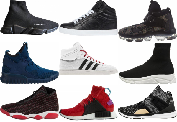 buy knit high top sneakers for men and women