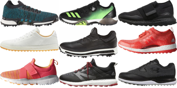 buy knit upper golf shoes for men and women