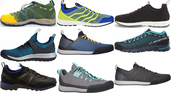 buy knit upper low approach shoes for men and women