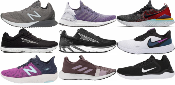 buy knit upper running shoes for men and women