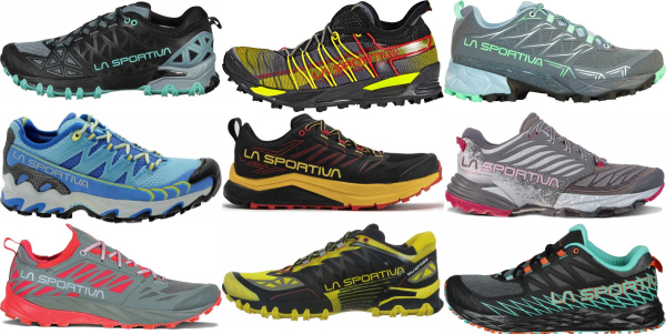 buy la sportiva trail running shoes for men and women