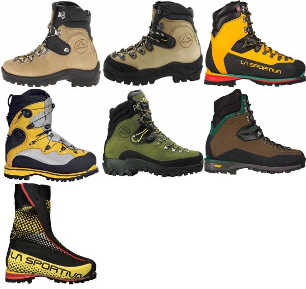buy la sportiva water repellent mountaineering boots for men and women