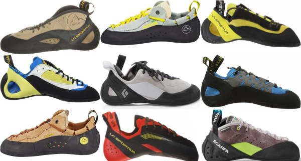 buy lace-to-toe climbing shoes for men and women
