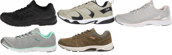 buy lace-up avia walking shoes for men and women