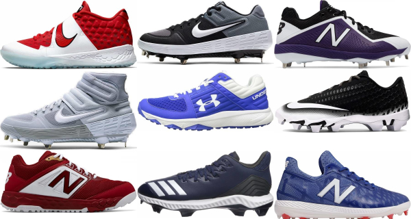 buy lace-up baseball cleats for men and women