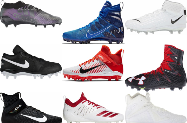 buy lace-up football cleats for men and women