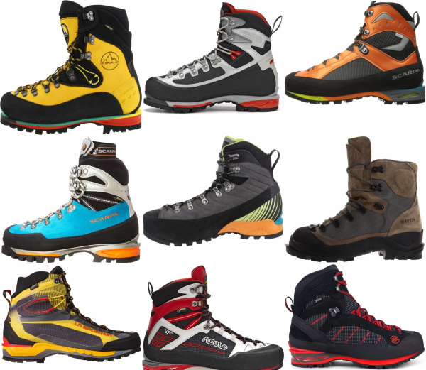 buy lace up mountaineering boots for men and women