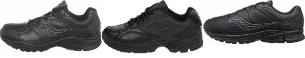 buy lace-up saucony walking shoes for men and women