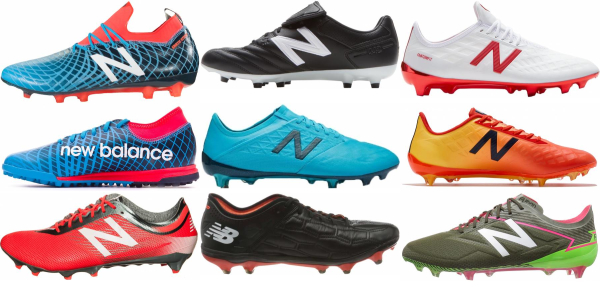 buy laced new balance soccer cleats for men and women