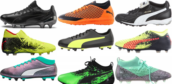 buy laced puma soccer cleats for men and women