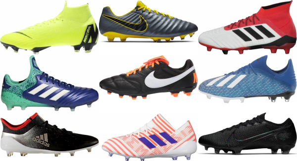 buy laced soccer cleats for men and women