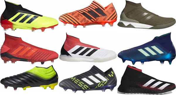 buy laceless soccer cleats for men and women