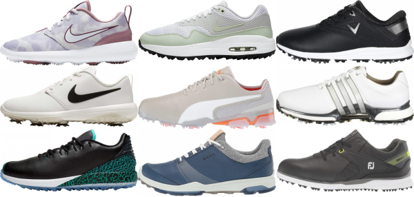 buy laces golf shoes for men and women