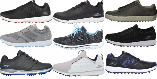 buy laces skechers golf shoes for men and women