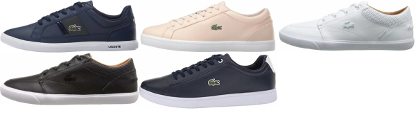 buy lacoste leather sneakers for men and women
