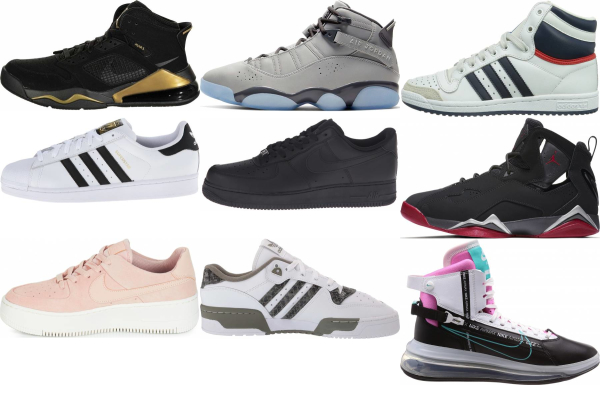 buy leather basketball sneakers for men and women