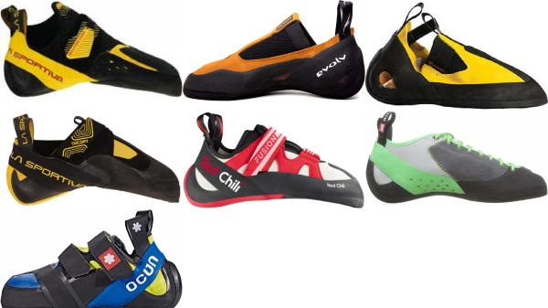 buy leather climbing shoes for men and women