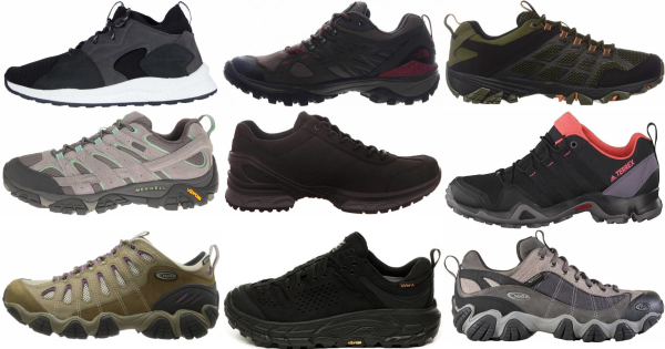 buy leather hiking shoes for men and women