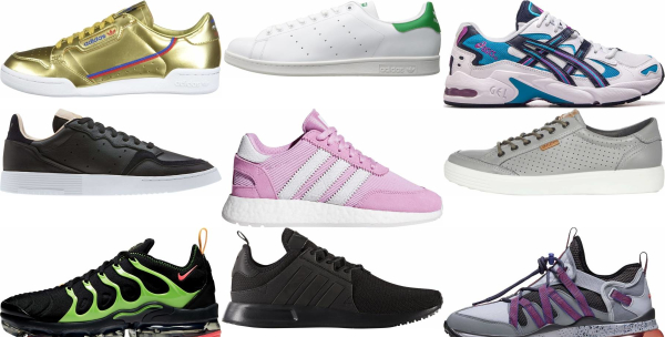 buy leather low top sneakers for men and women