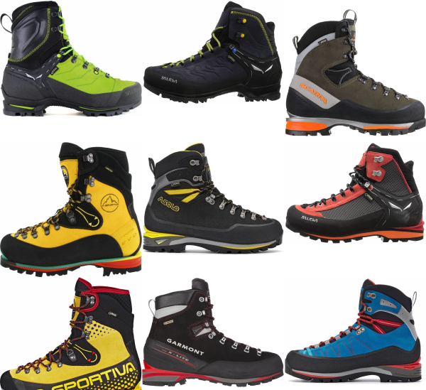 buy leather mountaineering boots for men and women
