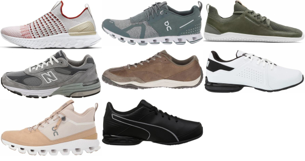 buy leather running shoes for men and women