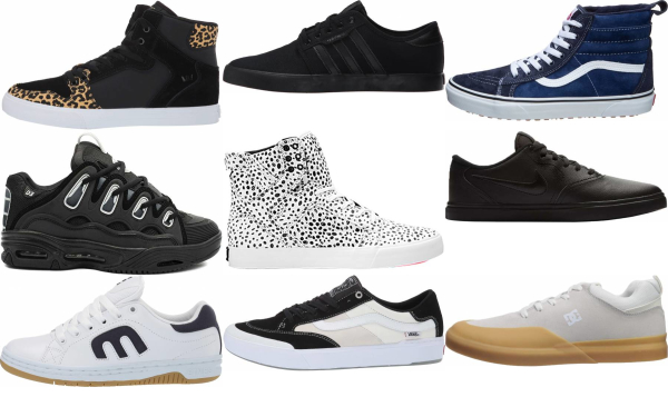 buy leather skate sneakers for men and women