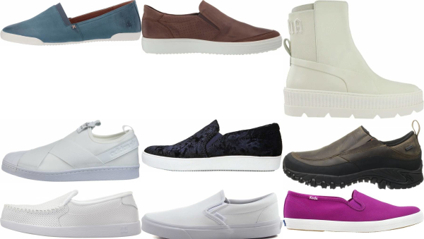 buy leather slip-on sneakers for men and women