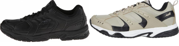 buy leather upper avia walking shoes for men and women