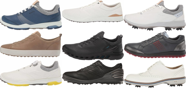 buy leather upper ecco golf shoes for men and women