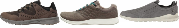 buy leather upper ecco walking shoes for men and women