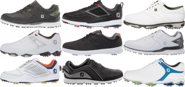 buy leather upper footjoy golf shoes for men and women
