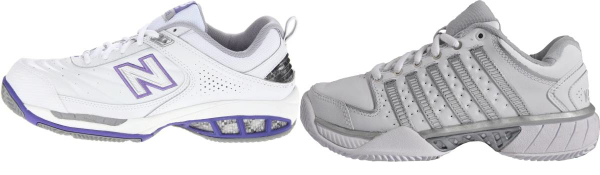 buy leather upper stability tennis shoes for men and women