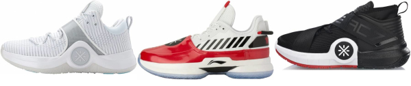 buy li-ning basketball shoes for men and women