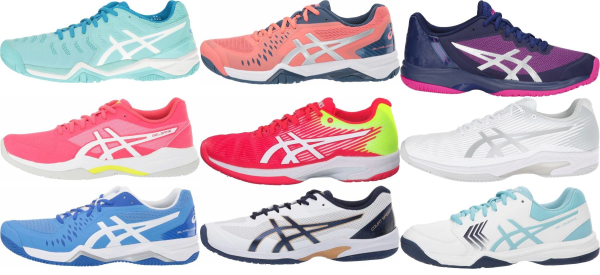 buy lightweight asics tennis shoes for men and women