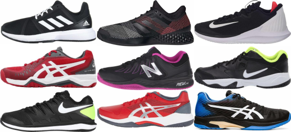 buy lightweight black tennis shoes for men and women