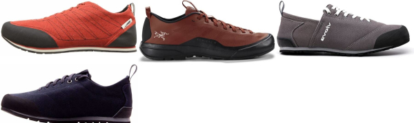 buy lightweight fabric/textile approach shoes for men and women