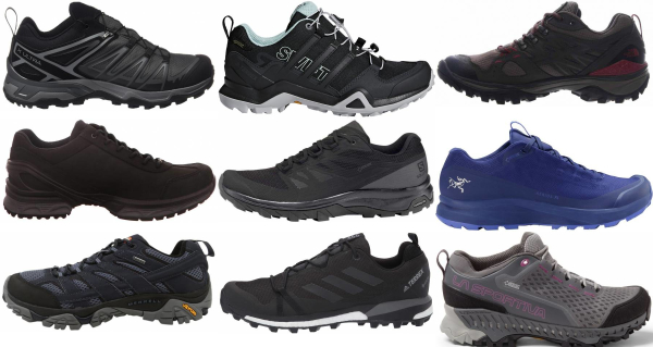 buy lightweight gore-tex hiking shoes for men and women